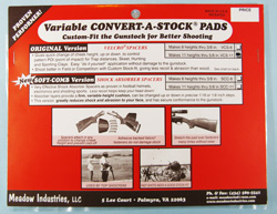Convert-A-Stock® Pad System